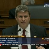 Image from C-SPAN of US House Rep. Bill Huizenga (R-Zeeland) during a Feb. 27, 2013 House Financial Services Subcommittee hearing. (photo courtesy office of US House Rep. Bill Huizenga)