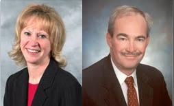 Jeanne Carlson and James Hettinger will be Chair and Vice-Chair of the WMU Board of Trustees for the next year.