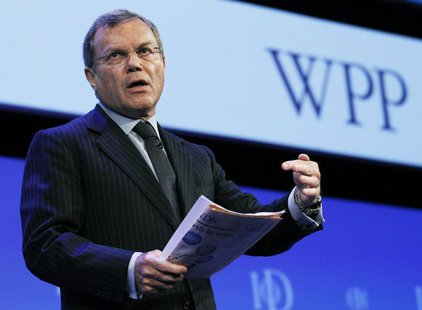 Chief Executive of WPP Group, Martin Sorrell, speaks at the Institute of Directors IOD annual convention at the Albert Hall in London April