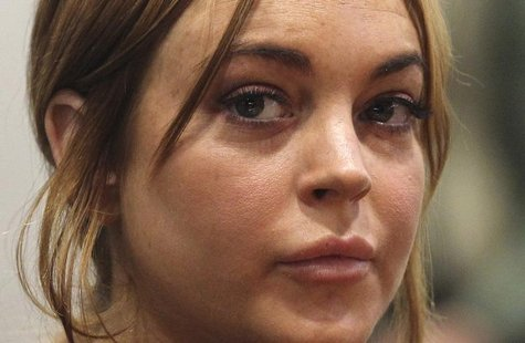 Actress Lindsay Lohan attends a probation violation hearing at Airport Branch Courthouse in Los Angeles, California in this file photo taken