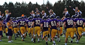 UW Stevens Point Football.  Photo courtesy UWSP Athletic Department.