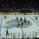 Sioux Falls Stampede face off in Wisconsin against Green Bay Gamblers - Photo copyright SF Stampede and used with permission
