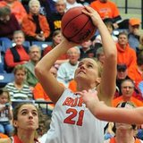 Hope College forward Courtney Kust (photo courtesy Hope College)