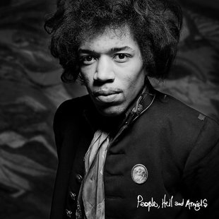 "The cover of the Jimi Hendrix album ""People, Hell and Angels"" is pictured in this handout photo courtesy of Experience Hendrix LLC and Legac"