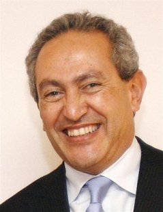 Nassef Sawiris, director and chief executive of Orascom Construction Industries (OCI) poses for a picture in Paris, December 10, 2007. REUTE