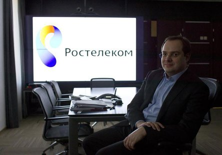 Alexander Provotorov, chief executive of Rostelecom, poses at his office in Moscow February 21, 2013. REUTERS/Maxim Shemetov