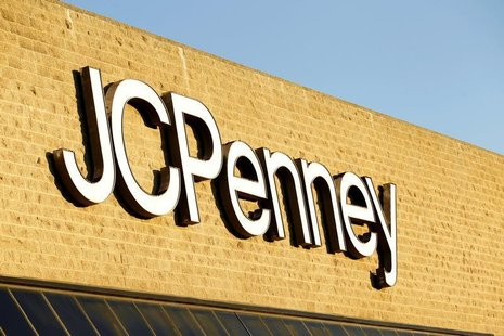The sign at the entrance of a J.C. Penney store is pictured in Arcadia, California March 1, 2013. REUTERS/Mario Anzuoni