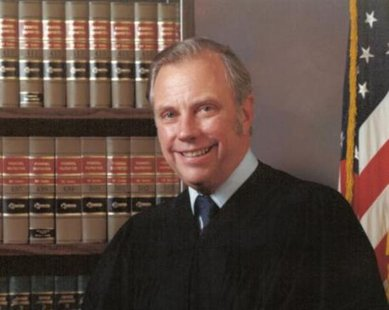 Judge Robert Danhof (photo courtesy Langeland-Sterenberg Funeral Home)