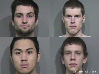 Clockwise from upper left: Matthew D. Lenzer, Daniel W. Luce, Tyler N. Thorson, Kong A. Vang.
