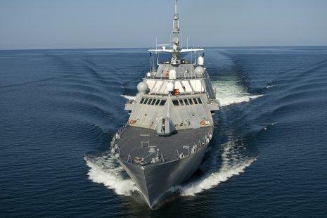 Marinette Marine Littoral Combat Ship (LCS)