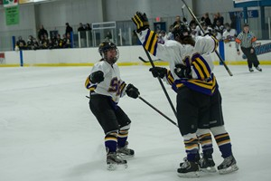 UW-Stevens Point Women's Hockey.  Photo courtesy UWSP Athletic Department