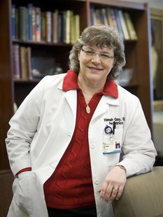Dr. Hannah Gay is pictured in this undated handout photo courtesy of the University of Mississippi Medical Center. Gay, the doctor who cured