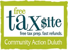 community action duluth tax