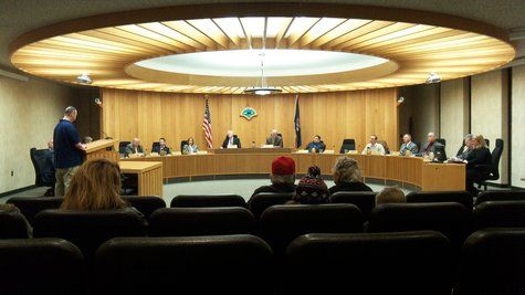 The new smaller Kalamazoo County Board.