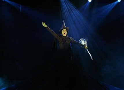 "Actress Idina Menzel performs a number from ""Wicked"" at The American Theater Wing's 58th Annual Tony Awards at Radio City Music Hall in New"