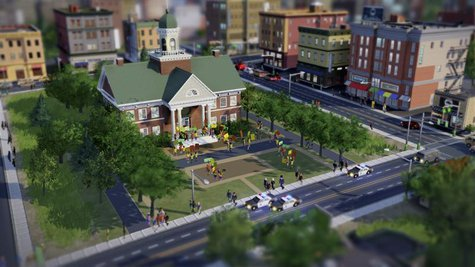 Electronic Arts' video game SimCity is seen in a handout photo. REUTERS/Electronic Arts/Handout