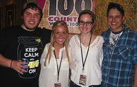 Y100 Presented Randy Houser at the Meyer Theatre on 3/7/13 13