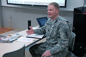 Frank O'Laughlin, Army National Guard Marketing and Operations Director