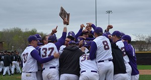 UW-Stevens Point Baseball.  Photo courtesy UWSP Athletic Department
