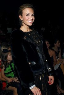 Elisabeth Hasselbeck attends the Milly by Michelle Smith Fall/Winter 2011 collection show during New York Fashion Week February 16, 2011. RE