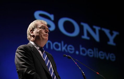 Howard Stringer speaks at a function to launch the Sony Media Technology Centre at a film school on the outskirts of Mumbai March 4, 2011. R