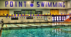UW-Stevens Point Swimming.  Photo courtesy UWSP Athletic Department.