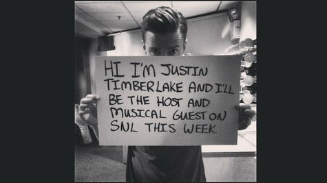 Image courtesy of JustinTimberlake.com (via ABC News Radio)