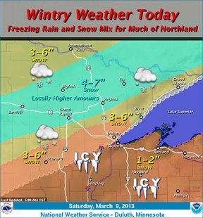Winter weather 3-9-13
