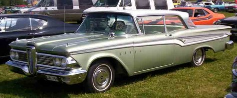 A 1959 Ford Edsel.