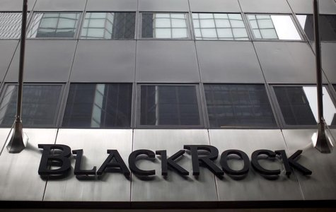 A BlackRock building is seen in New York June 12, 2009. REUTERS/Eric Thayer