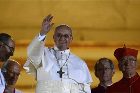 Jorge Mario Bergoglio of Argentina, now Pope Francis I  (Reuters)