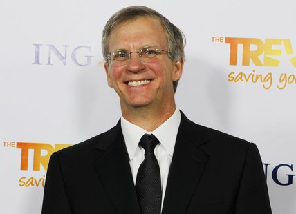 "Alan Eustace, senior vice-president of engineering and research at Google Inc., arrives at The Trevor Project's ""Trevor Live"" fundraising di"