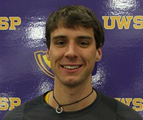 UW-Stevens Point's mid-distance runner Dan Sullivan.  Photo courtesy UWSP Athletic Department.