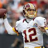 Kirk Cousins, back-up QB for Washington Redskins