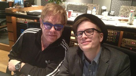 Image courtesy of Courtesy of Patrick Stump via Twitter (via ABC News Radio)
