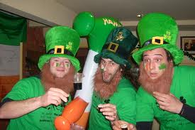 St. Patrick's Day Partiers
