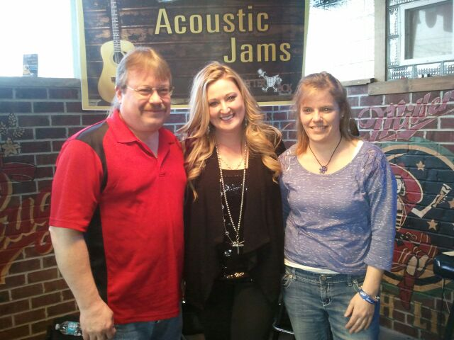 Erica Nicole with Tim and Anne from Rapids