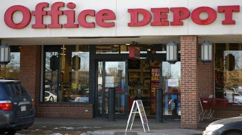 An Office Depot store is pictured in Boulder, Colorado December 10, 2008. REUTERS/Rick Wilking
