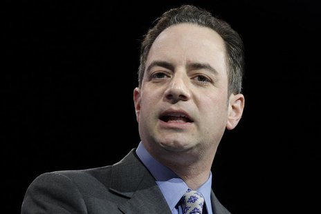 Republican National Committee Chairman Reince Priebus addresses the Conservative Political Action Conference (CPAC) in National Harbor, Mary