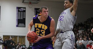UW-Stevens Point's Trevor Hass.  Photo courtesy UWSP Athletic Department.