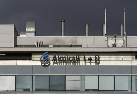 Spanish pharmaceutical company Almirall's Research Centre is pictured in Sant Feliu de Llobregat near Barcelona September 3, 2008. REUTERS/G