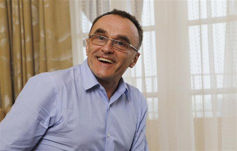 "Director Danny Boyle poses for a portrait while promoting his movie ""Trance"" in Los Angeles, California March 16, 2013. Picture taken March"