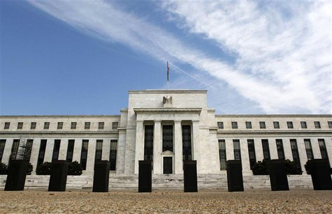 The Federal Reserve building in Washington is pictured in this August 22, 2012 file photo. REUTERS/Larry Downing/Files