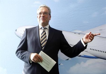 File photo of Stefan Lauer during a news conference in Schwechat September 22, 2011. REUTERS/Lisi Niesner
