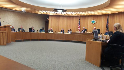 The Kalamazoo County Board met Tuesday night to approve the settlement and handle the rest of their regular agenda.