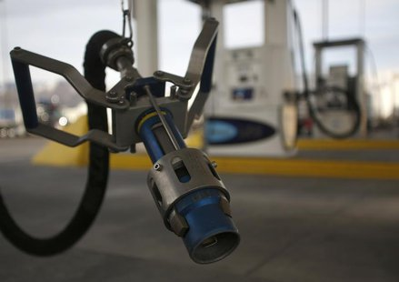 A LNG fuel pump nozzle at a Blu LNG filling station in Salt Lake City, Utah, March 13, 2013. REUTERS/Jim Urquhart