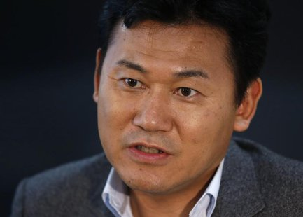 CEO of e-commerce operator Rakuten Inc Hiroshi Mikitani, who is a member of Japan's Prime Minister Shinzo Abe's advisory panel on industrial
