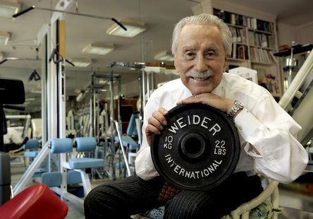 Legendary publisher, promoter and weightlifter Joe Weider, who created the Mr. Olympia contest and who brought California Governor Arnold Sc