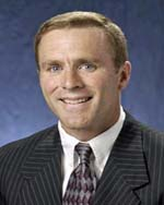 Wisconsin Badger Hockey Coach Mike Eaves
