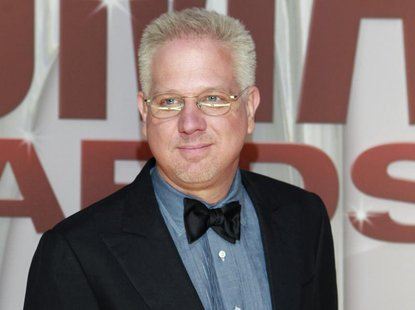Commentator Glenn Beck arrives at the 45th Country Music Association Awards in Nashville, Tennessee November 9, 2011. REUTERS/Harrison McCla